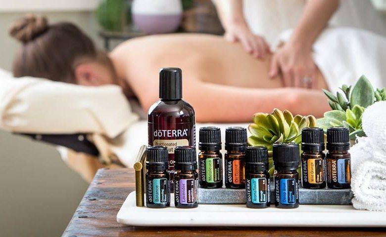 huiles essentielles doterra massage soin bien etre aromatouch